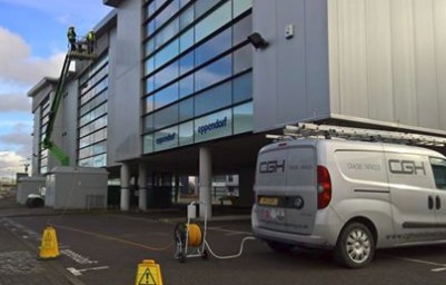 Commercial window cleaning services in Stevenage