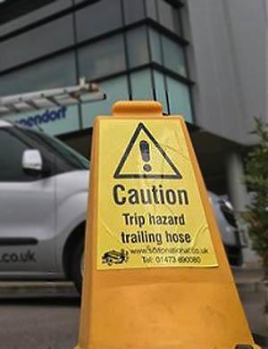 Safety sign Stevenage